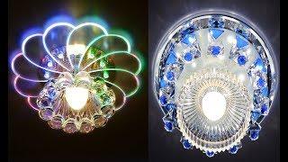 False Ceiling Lights|New Luxury Crystal Lights LED Lamp|Living Room Home Interior Decoration Model
