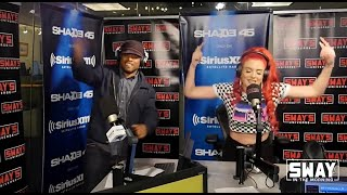 Justina Valentine on Sway's 5 Fingers of Death *REAL FREESTYLE*