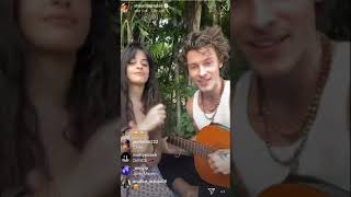 Shawn Mendes & Camila Cabello singing