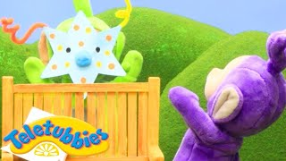 Teletubbies | Funny Dipsy Mask! | Teletubbies Stop Motion | Cartoons for Children