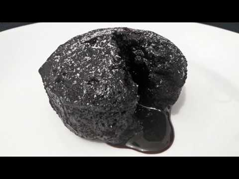 Eggless choco lava cake recipe| Eggless & without oven ...