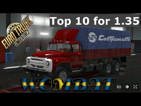 ETS2 1.35 - Top 10 Free Truck Mods That Isn't A Scania