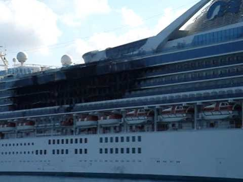 Cruise Ship Fire The Day After YouTube - Princess cruise ship fire