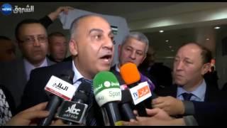 المنتخب الأولمبي الفلسطيني يصل الجزائر وسط استقبال جماهيري مميز