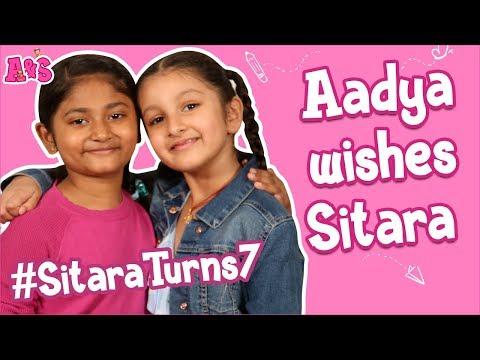 aadya-wishes-sitara-|-happy-birthday-sitara-ghattamaneni-|-aadya-&-sitara-|-a-&-s-channel