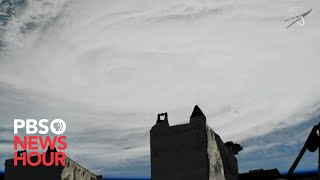 WATCH LIVE: International Space Station flies over Hurricane Dorian