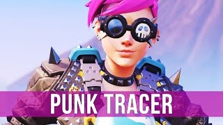 Overwatch: Punk Tracer Gameplay! (Overwatch Quick Match)