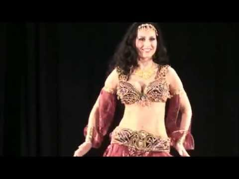 High quality drum solo belly dancing  by Amira Abdi HQ رقص