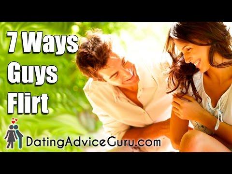 7 Ways Guys Flirt
