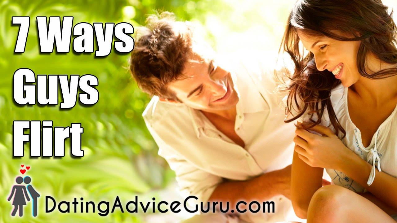 ways guys flirt