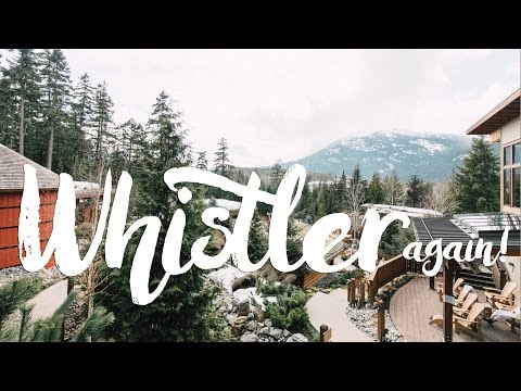 Another Day Trip to Whistler - Scandinave Spa   Vancouver Vlog   휘슬러 하루여행-스칸디나브 스파   밴쿠버 브이로그