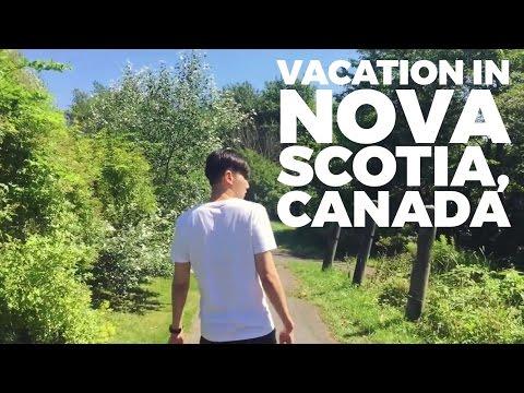 Summer Vacation in Nova Scotia, Canada 외국인 아내와 캐나다에서 보내는 여름 휴가 (자막 CC)