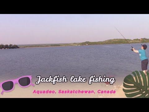 Рыбалка Jackfish Lake, Aquadeo, Saskatchewan Canada