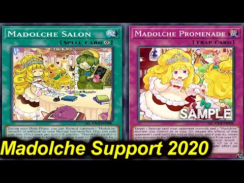 【YGOPRO】MADOLCHE SUPPORT DECK 2020 - MASTER RULE 5