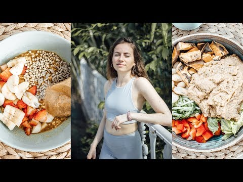 What I do + eat as a Yoga Teacher in London / Vegan Plantbased + intermittent fasting