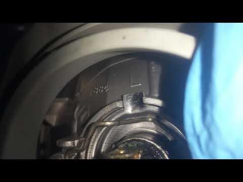 How to replace 2005-2008 Pontiac vibe headlight bulb