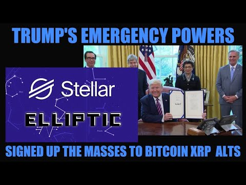 URGENT! TRUMP'S EMERGENCY POWERS JUST SIGNED UP THE MASSES TO BITCOIN XRP & ALTCOINS!