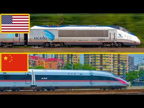 American Railways vs Chinese Railways Comparison