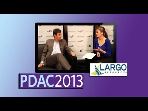 Largo Resources Will Be Lowest Cost Vanadium Producer In The World - PDAC2013