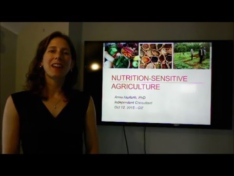 An Introduction to Nutrition Sensitive Agriculture