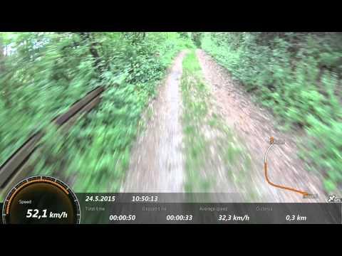 Scott Spark 750 - bike test down hill