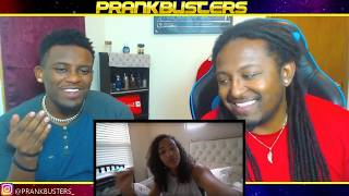 PRANK BUSTERS ANGRY GIRLFRIEND DELETES PRETTYBOYFREDO NBA 2K MYCAREER PLAYERS REACTION EXPOSED?!