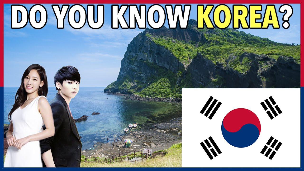 HOW WELL DO YOU KNOW KOREA? GAME SHOW QUIZ #3! - YouTube