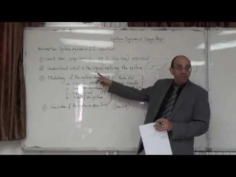 Control Algorithm (System Dynamics) Design Steps, 22/12/2014