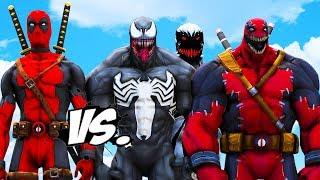 DEADPOOL VS TEAM VENOM - Venom, Venompool, Anti-Venom