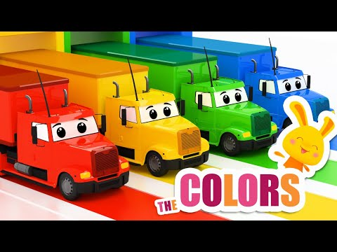NEW! 🚛Learn the colors with Titounis | Trucks!