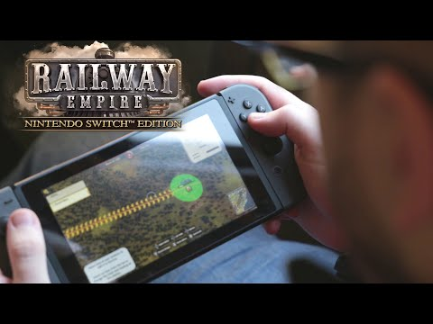 Railway Empire - Nintendo Switch™ Edition Trailer (UK) - Out Now