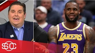 LeBron ignores Luke Walton's play calls, Windhorst reports | SportsCenter