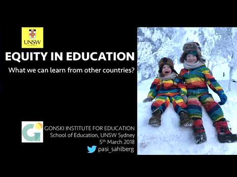 Equity in education: what can we learn from other countries?