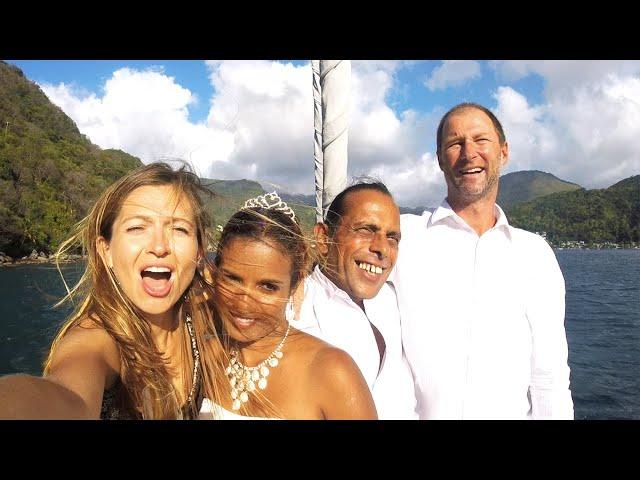 The Rasta Wedding Party!