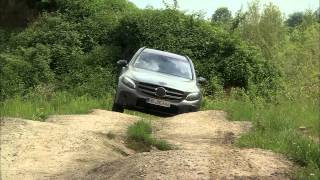 New Mercedes-Benz GLC (2015) - Off-road Testing