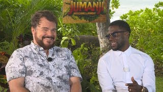 Kevin Hart & Jack Black's Hilarious JUMANJI Interview