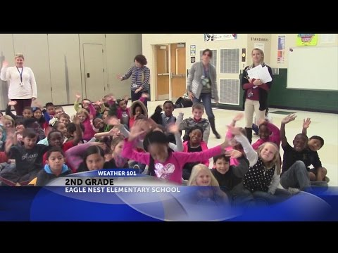 Rob's Weather 101 with 2nd Graders at Eagle Nest Elementary School