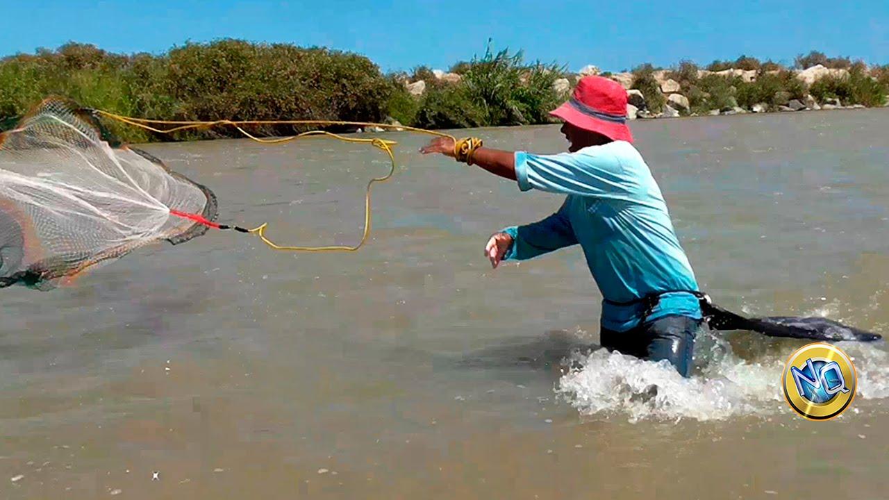 Aprendiendo a pescar con atarraya nivel novato youtube - Redes de pesca decorativas ...