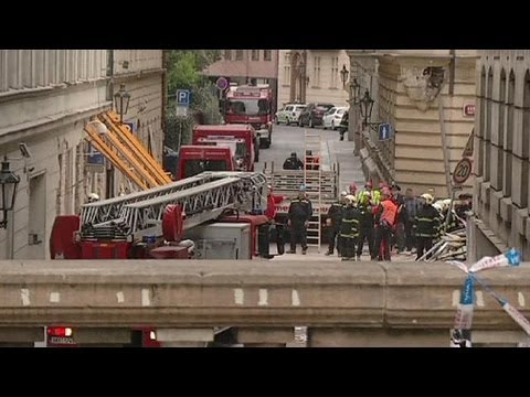 Search goes on after Czech office blast