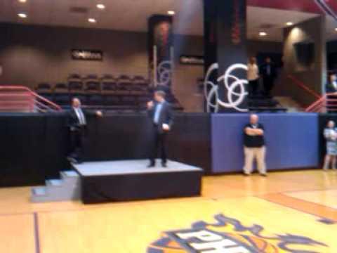 Rick Welts, president of Suns
