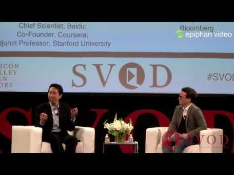 Andrew Ng, Google Brain, Baidu; Coursera, Stanford University