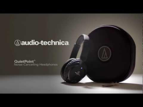 Audio-Technica QuietPoint Headphones - Silence Redesigned