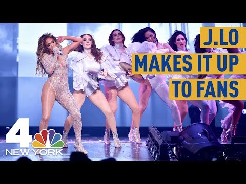 Jennifer Lopez Makes Up Blackout-Shortened Show With Another Performance  NBC New York