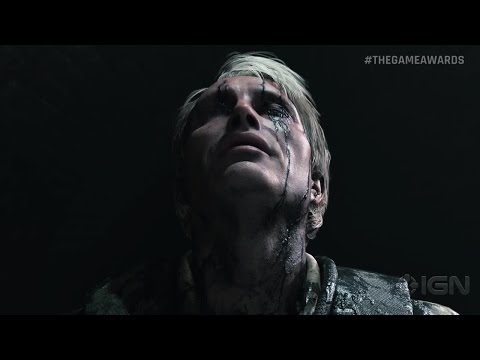 Death Stranding: Game Awards Announcement  Mads MikkelsenGuillermo del Toro