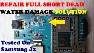 How To Repair Full Water Damage Dead Mobile Solution Full Tutorial Tested On Samsung J2
