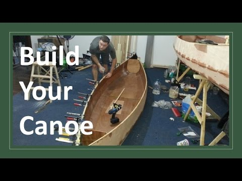 How to build a Wooden Canoe from Plywood, Fiberglass and Epoxy resin