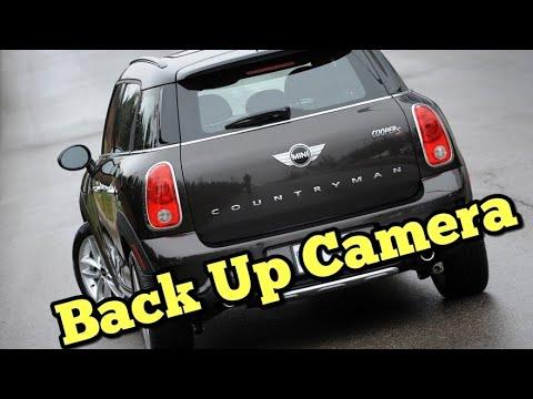 Install A Backup Camera In Mini Cooper And Mini Countryman Youtube