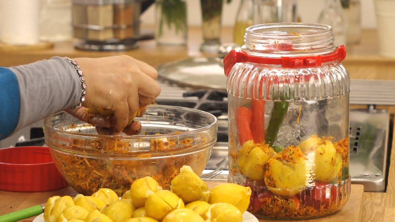 صينية بطاطس باللحم البتلو وليمون مخلل مع منال رشاد فى الأكل البيتى (الجزء الثانى)