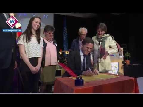 TV West Nieuws - Bezoek Mark Rutte - 18-01-2018