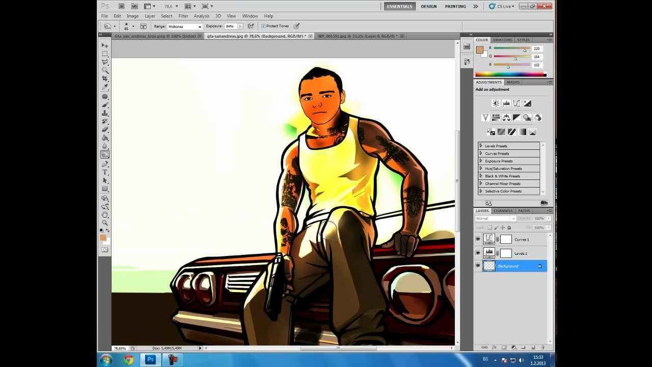 Tutorials for photoshop cs5 image collections any tutorial examples photo collection grand theft auto photoshop tutorial efecto gta v photoshop youtube baditri image collections baditri Images